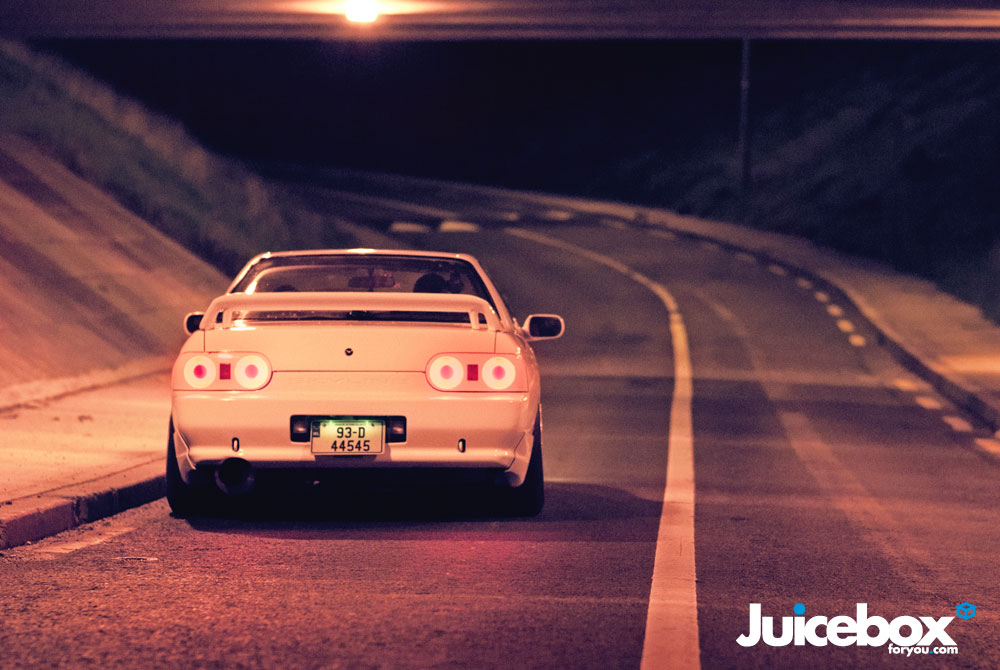 Nissan Skyline R32 GT-R japoński sportowy samochód kultowy Godzilla