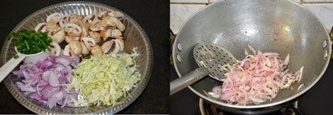 mushroom and cabbage recipe