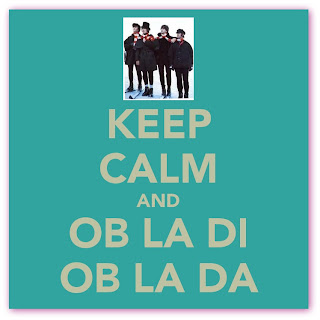 Imagem de banner Keep Calm and Ob-La-Di Ob-La-Da