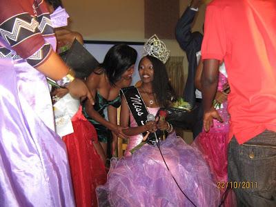 miss swaziland 2011 winner ayanda dube