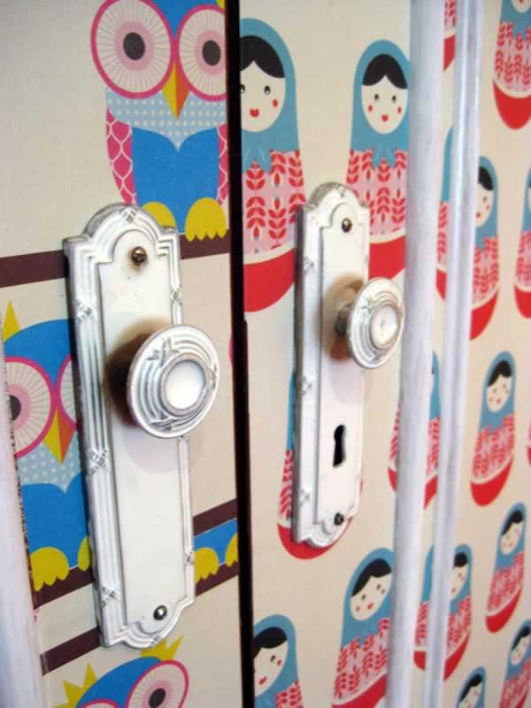 Renovar las puertas de un armario eycartonnage for Renovar puertas sapelly
