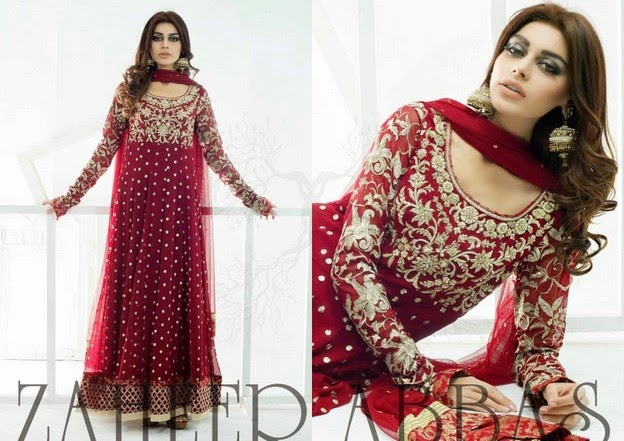 Zaheer Abbas Eid Collection 2014 wwwfashionhuntworldblogspot 14  - Zaheer Abbas Eid Collection 2014 For Women