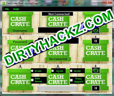 CashCrate V5.0 Hack Download 2012