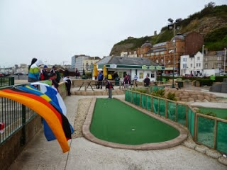 Pirates Adventure Golf course in Hastings
