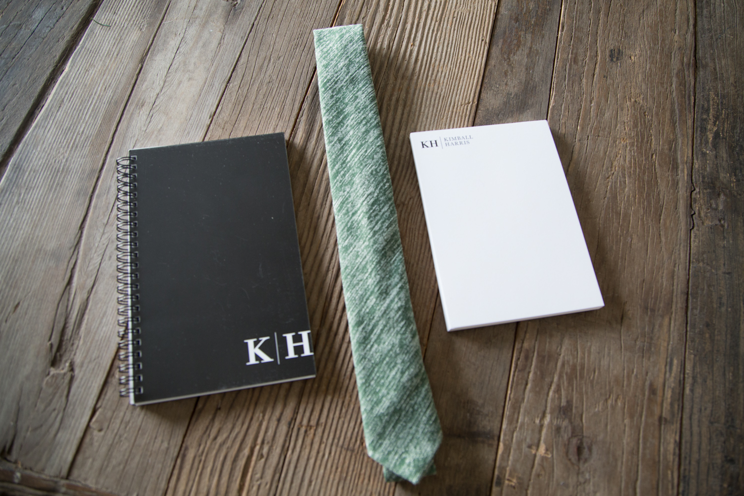 Personalized Stationary Set for Men from Tiny Prints