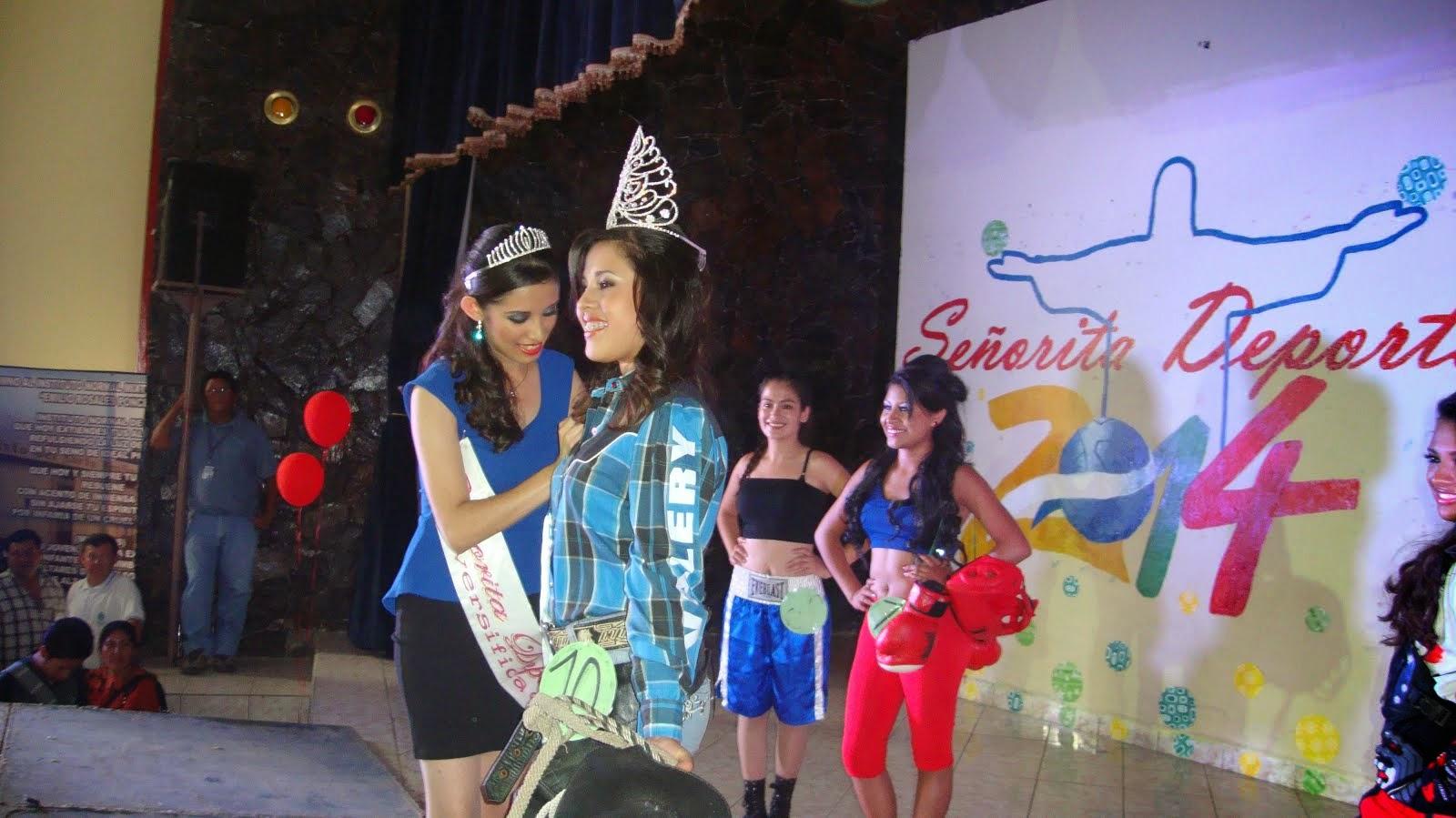 "SEÑORITA DEPORTES 2014 ""E.R.P."""