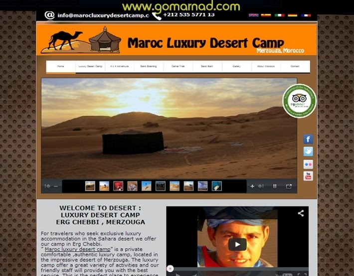 Gomarnad creation site web enrigester domain seo for Site web pour hotel