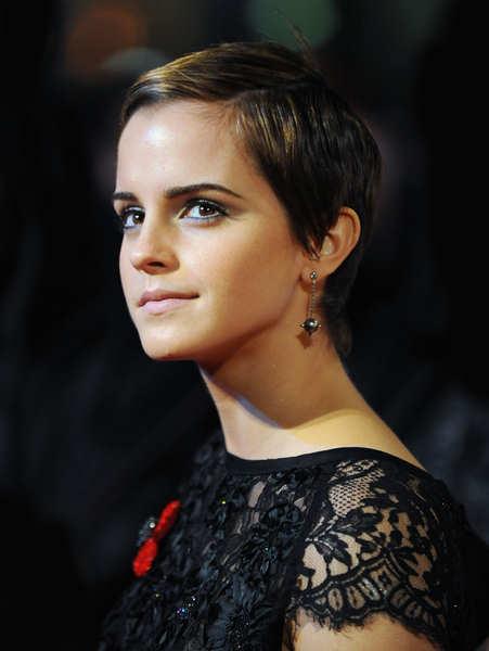 emma watson short hair 2011. emma watson short hair
