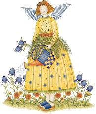 Queridos anjos do jardim