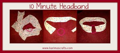 10 minute headband