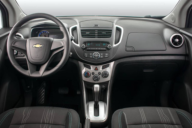 Novo Chevrolet Tracker 2016 - LT - interior