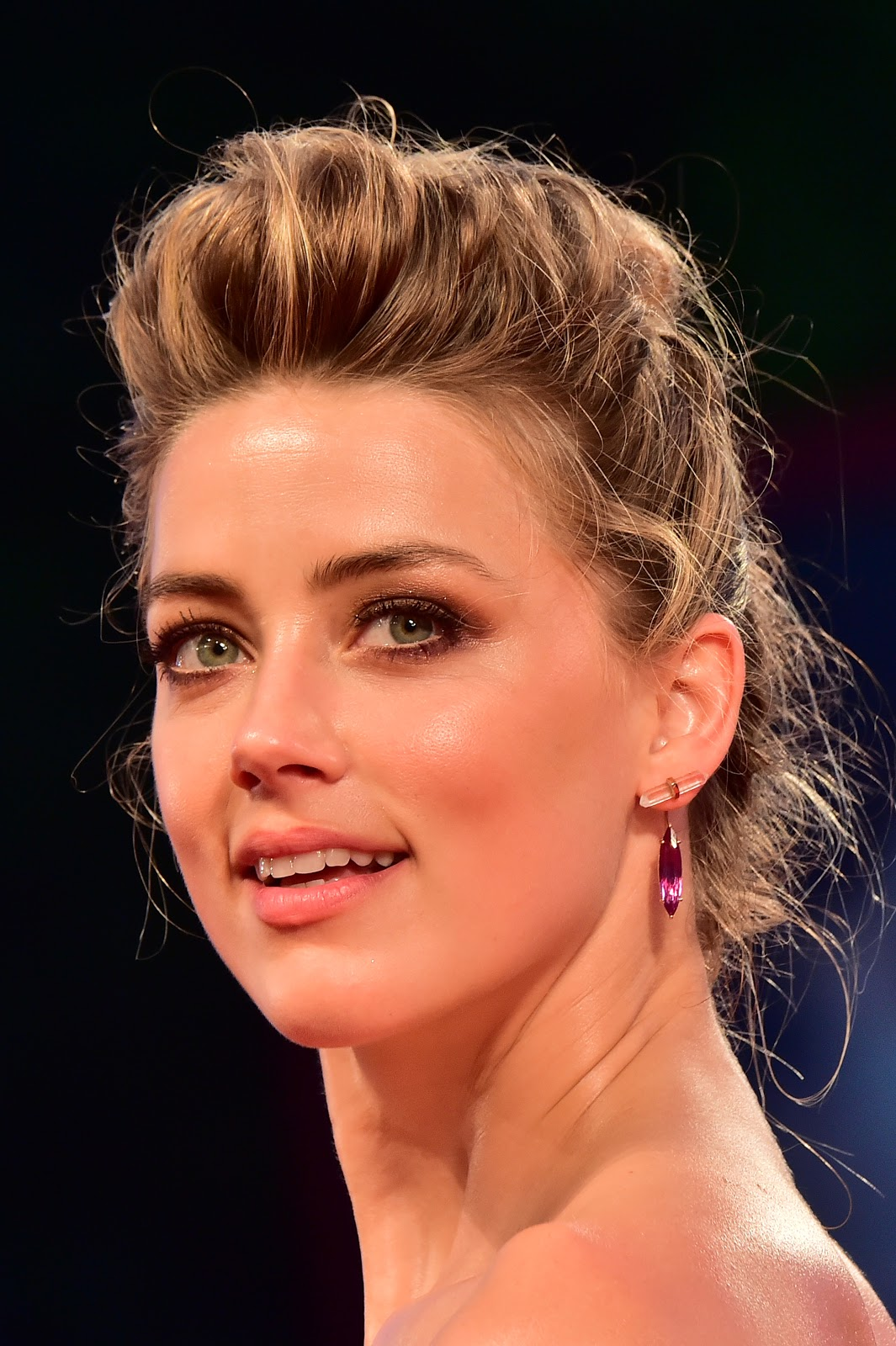 Amber Heard & Johnny Depp at 72nd Venice International Film Festival