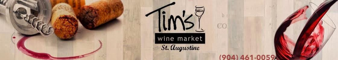 Tim's Wine Market - St. Augustine