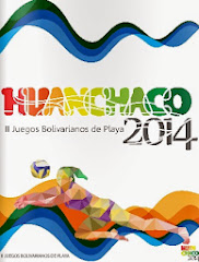 Boletín de resultados Juegos Bolivarianos de playa Huanchaco 2014