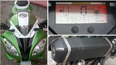 Modifikasi Motor Vixion R6