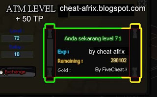 cheat atm exp + tp new