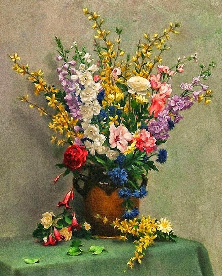cuadros-de-flores-al-oleo-gratis
