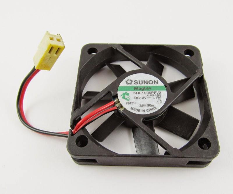 10 SUNON 50mm x 50mm x10mm 5010 12V DC Fan KDE1205PFV2 11CFM 2pin 2510 Connector