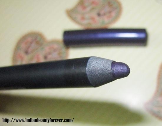 purple eyeliner pencil