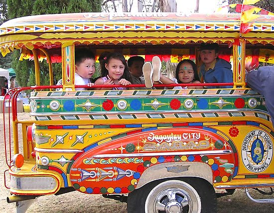 transpo1 - Painting a Jeepney - Philippine Photo Gallery