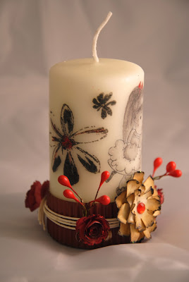 altered candle