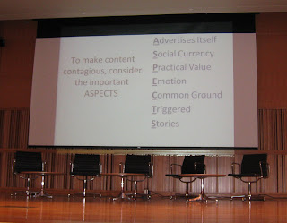 Jonah Berger, ASPECTS for contagious content marketing