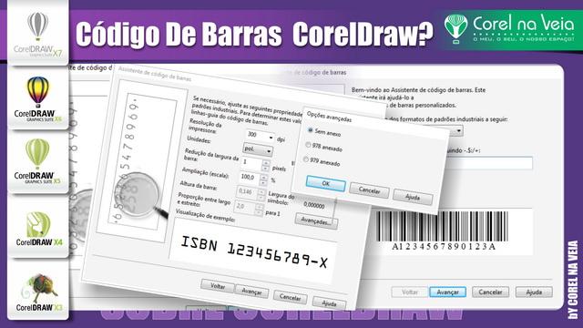 Gerando Código De Barras no CorelDRAW