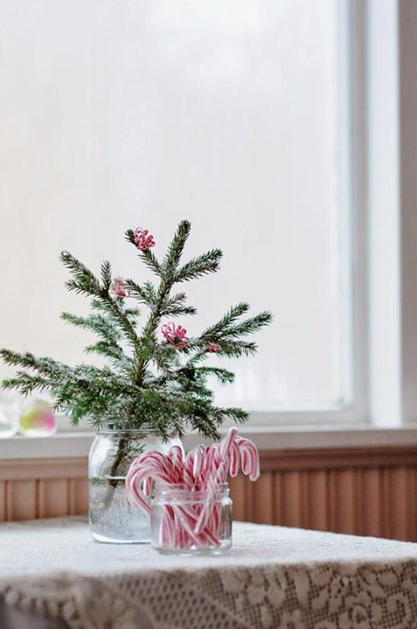 decoración navideña escandinava
