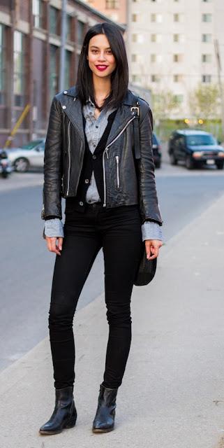 black street style fashion