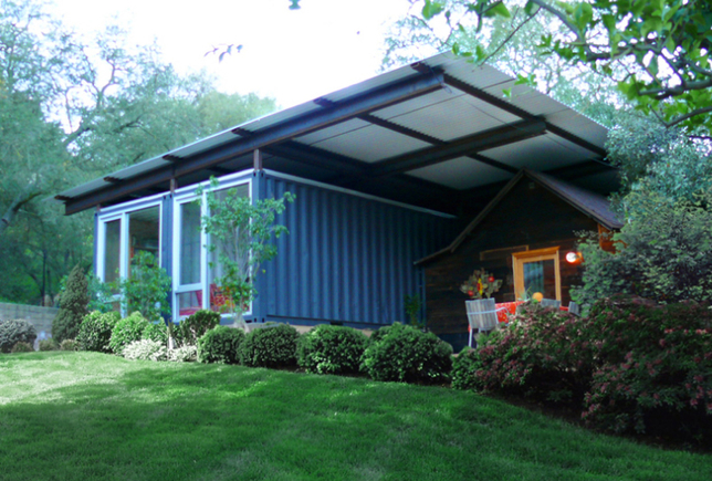 Shipping container homes self contained topanga california for Self contained house plans