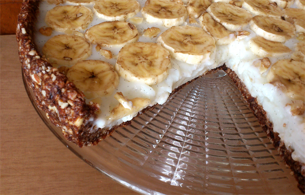 Tarta bez cukru, tłuszczu i glutenu
