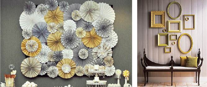 Do It Yourself Wall Art the bloomin' couch: easy diy wall art