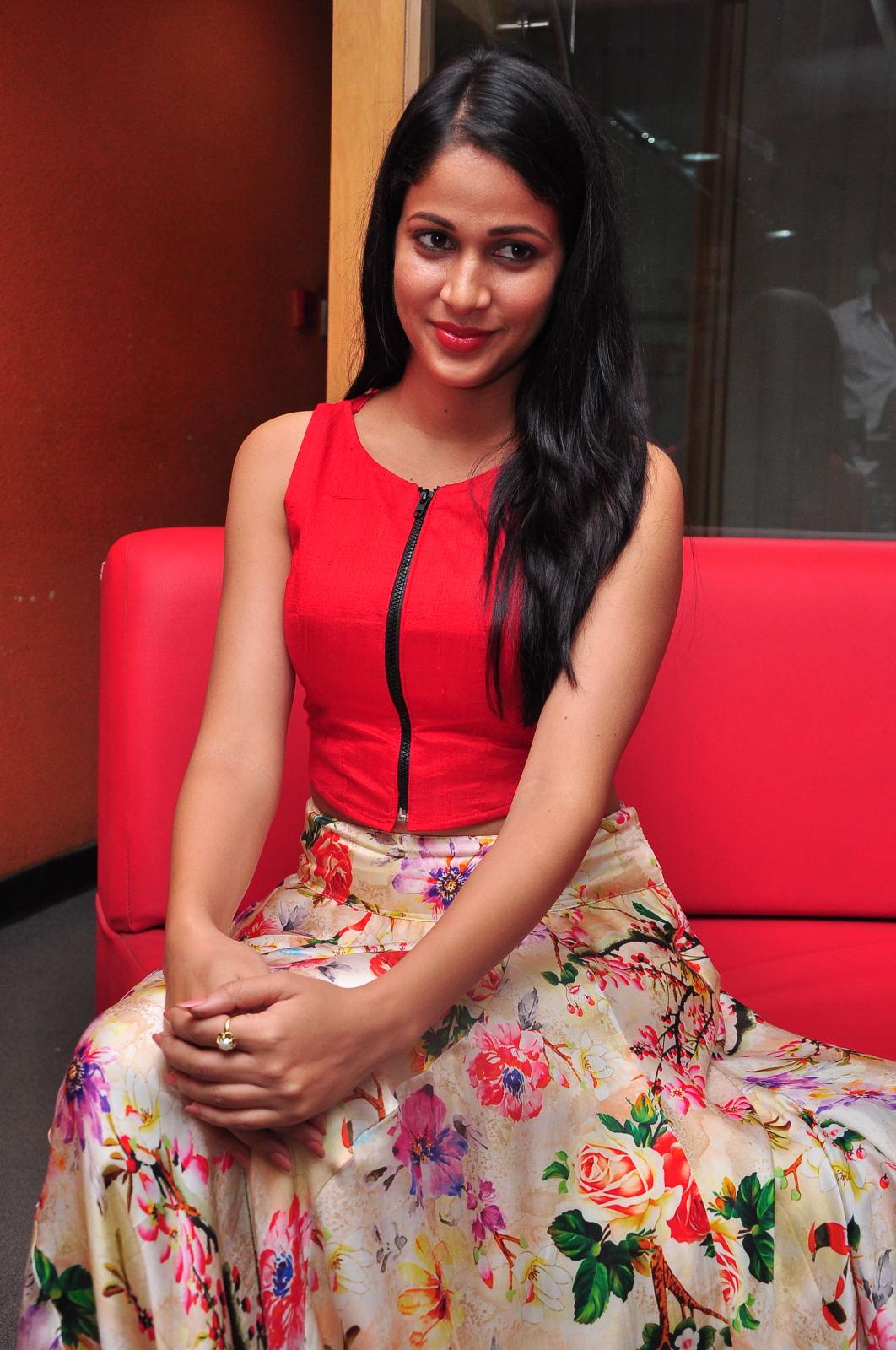 Lavanya at Red Fm Radio station-HQ-Photo-10