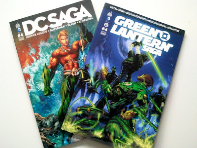 Mes prochaines lectures comics: DC Saga #4 et Green Lanterne Saga #4
