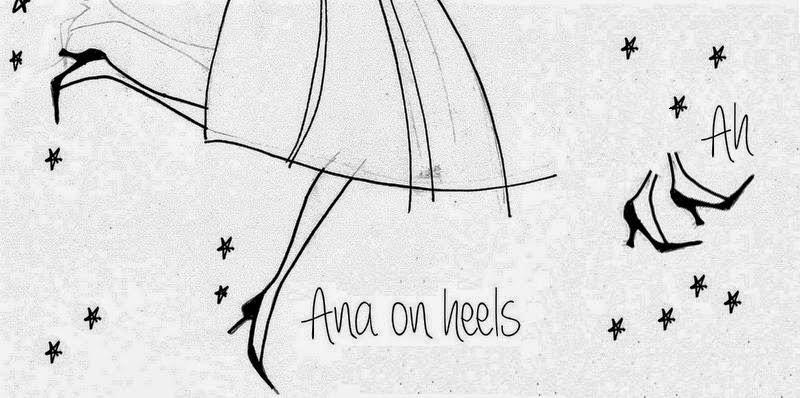 Ana on heels