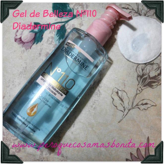 Gel de belleza limpiador Diadermine