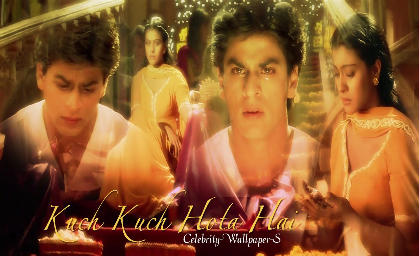 shahrukh khan kajol wallpaper kuch kuch hota hai rahul anjali kkhh