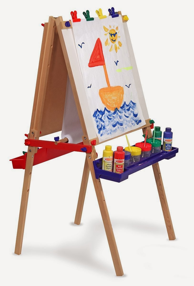 Melissa doug deluxe standing easel best and top toys - Cavalletto ikea bambini ...