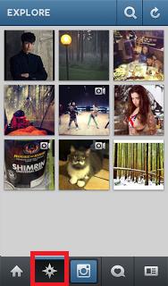 Cara Menggunakan Instagram Explore