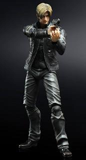Square Enix Play Arts Kai Resident Evil (Biohazard) 6 Leon Kennedy Figure