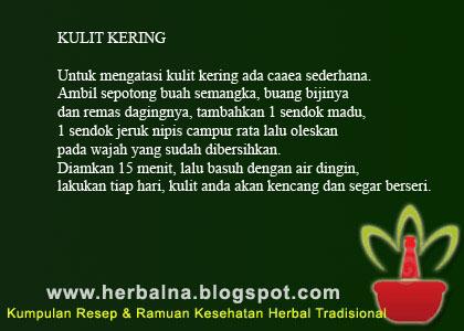 KULIT KERING Untuk mengatasi kulit kering ada cara sederhana.  Ambil sepotong buah semangka, buang bijinya dan remas dagingnya
