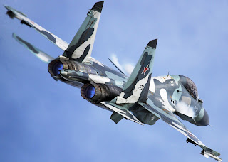 Sukhoi Fighter jet