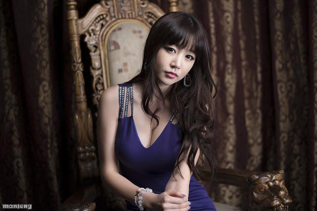 Hong Ji Yeon- Sexy in Purple