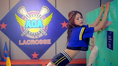 AoA Hyejeong in Heart Attack MV