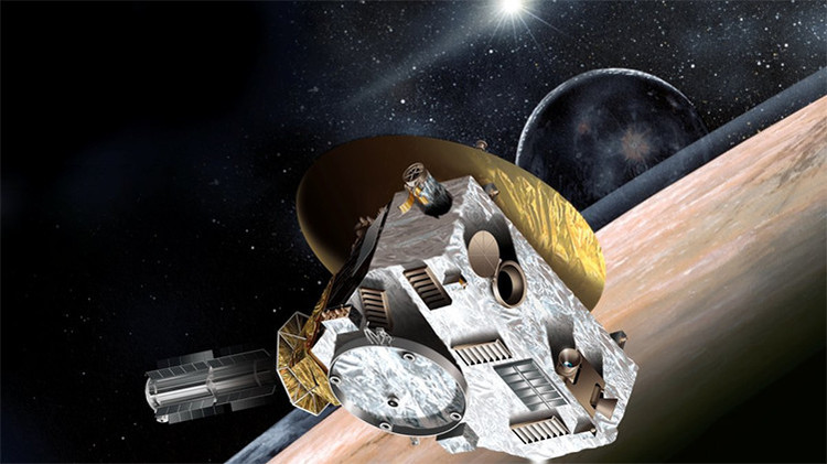 La sonda New Horizons de la NASA sufre una avería en su viaje a Plutón