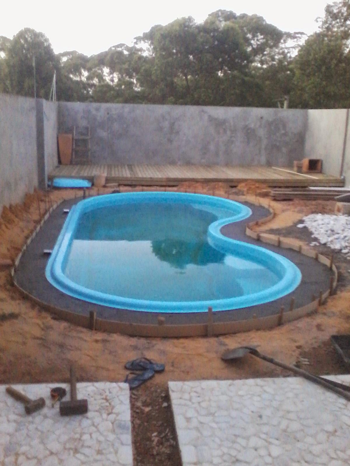 Minha mini mans o piscina for Cubas de agua para piscina