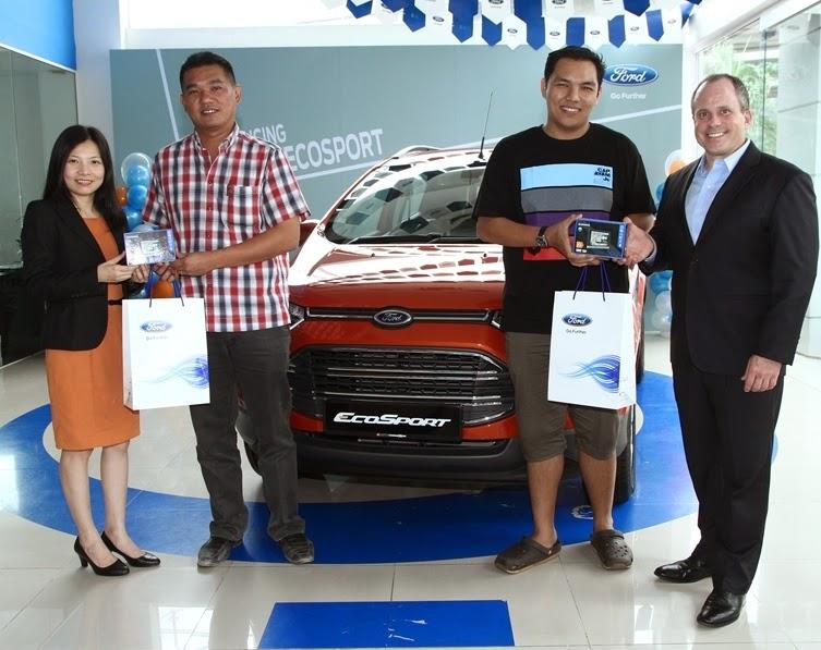 Penghantaran All New Ford EcoSport Kick Off Seluruh Negara