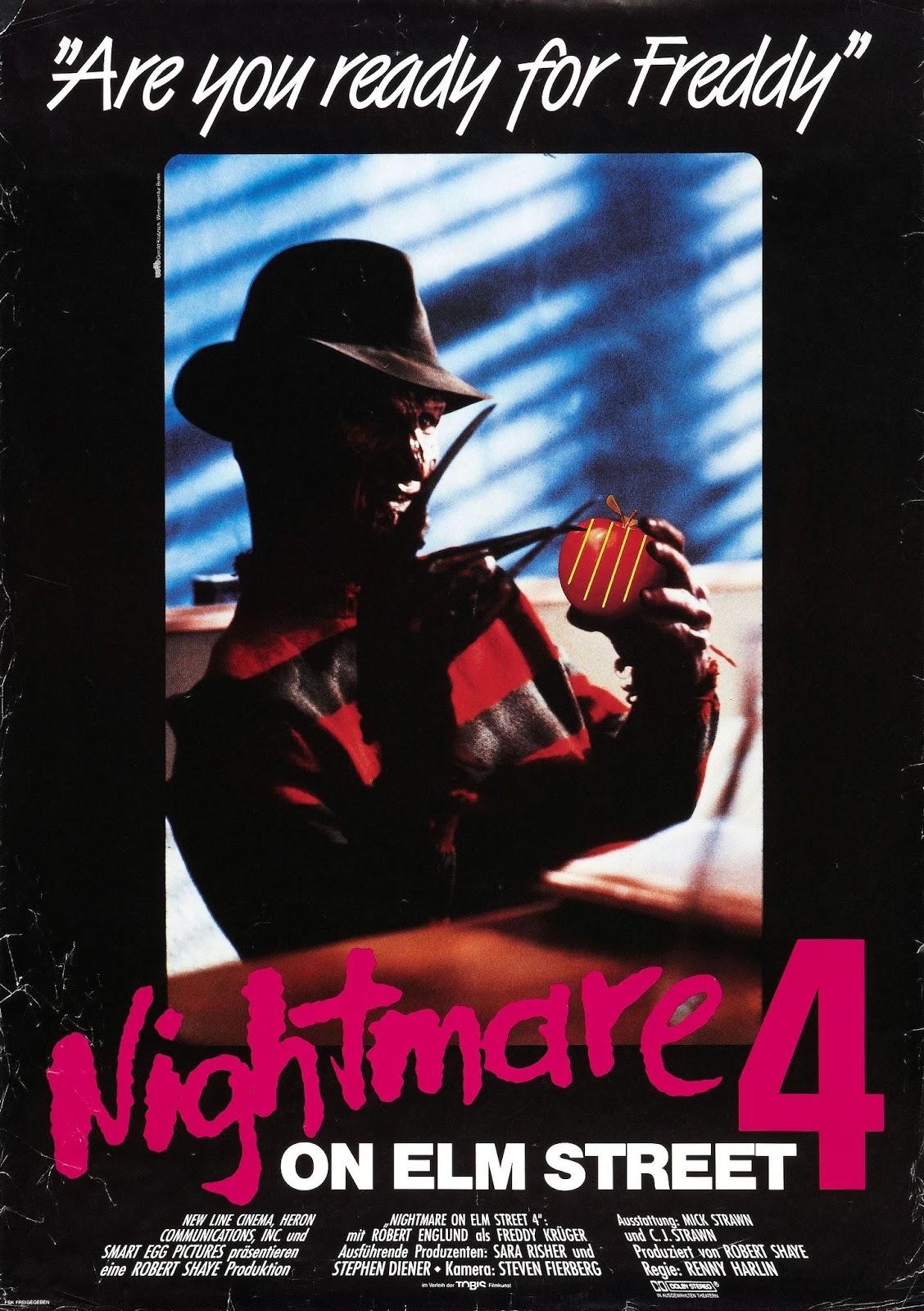 A Nightmare on Elm Street 3 Dream Warriors Movie Poster