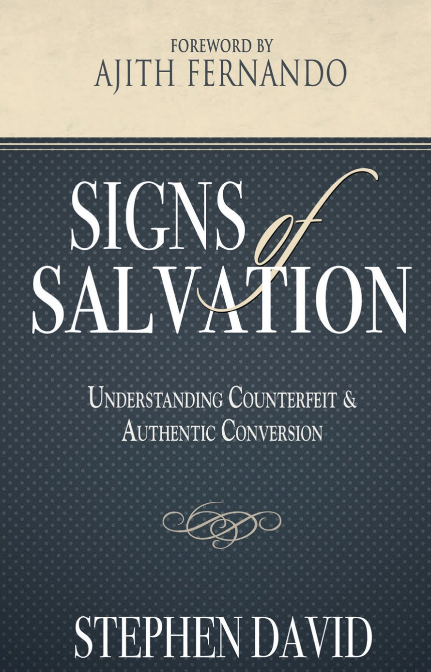 "New Book by Stephen David: ""Signs of Salvation"""