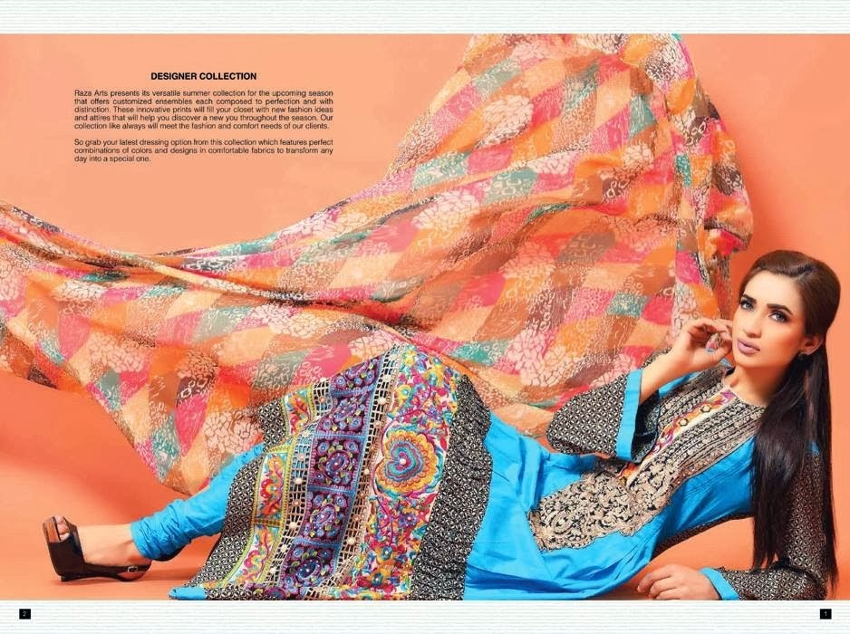 Designer Lawn Collection 2014 By Salam's Textile